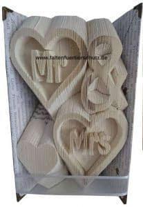 Faltbuch Mr und Mrs
