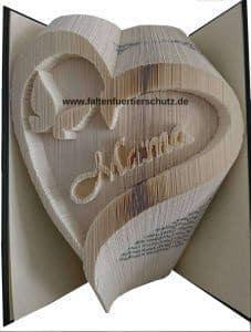 Faltbuch Tierschutz Herz Mama