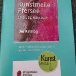Faltbuch Tierschutz Katalog Kunstmeile Pfersee