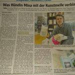 Kunstmeile Pfersee Zeitung, Tierschutz