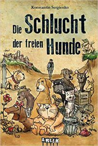 Faltbuch Tierschutz Schlucht der freien Hunde