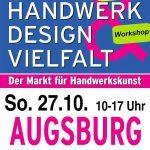 Kunsthandwerkermarkt Augsburg