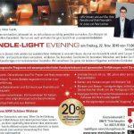 Candle light Thierhaupten Faltbuch